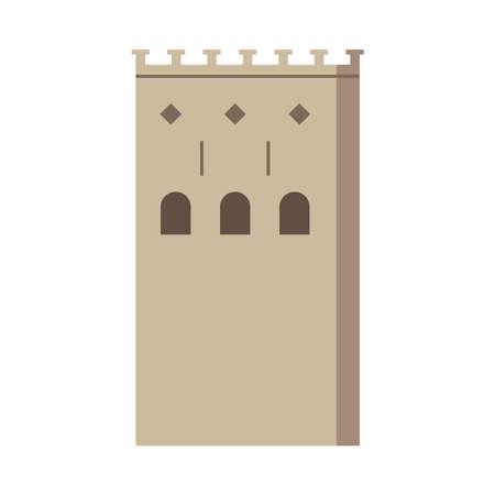 house manger front facade icon vector illustration design