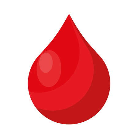 blood drop donation isolated icon vector illustration design