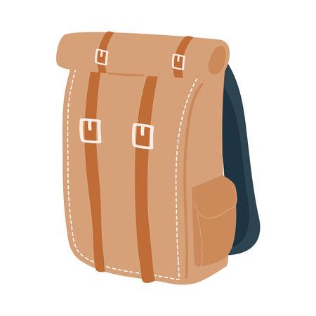 brown bag design, Baggage luggage tourism travel theme Vector illustration 일러스트