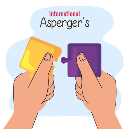 aspergers day puzzle pieces game