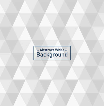 abstract triangular background with lettering