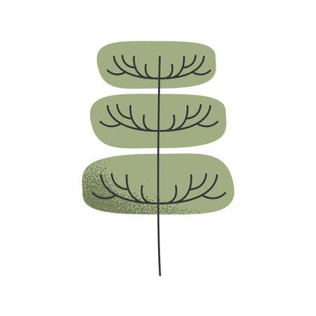 tree plant garden nature icon Vettoriali