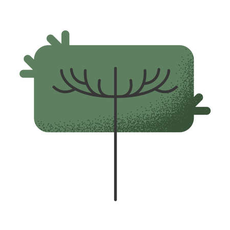 tree plant forest nature icon