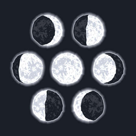 moon phases scene seven icons