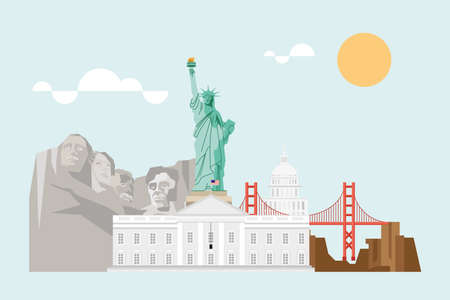 usa famous monuments landmarks scenic