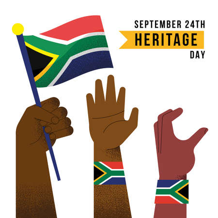 heritage day celebration with hands