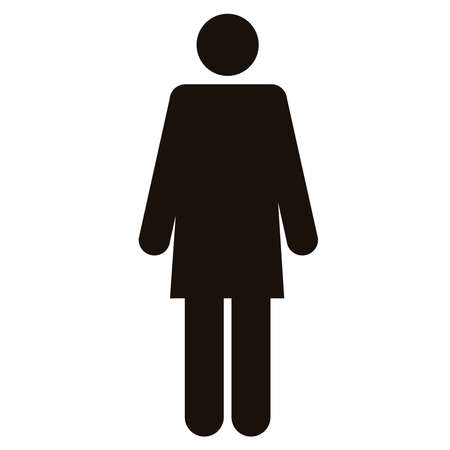 woman silhouette figure