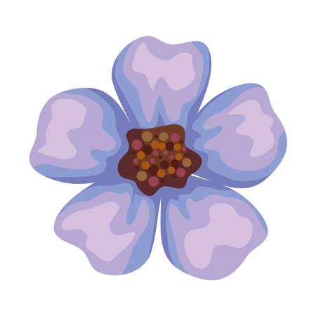 lilac petals flower Ilustracja