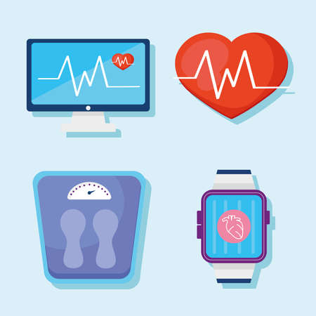 wearable health four monitors