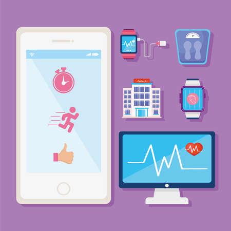 six wearable health monitors