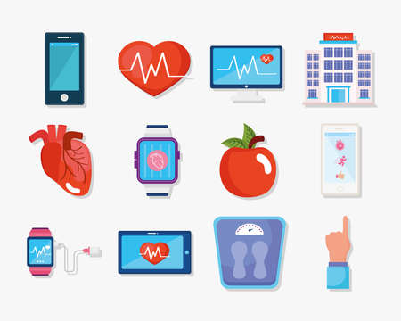 twelve wearable health monitors