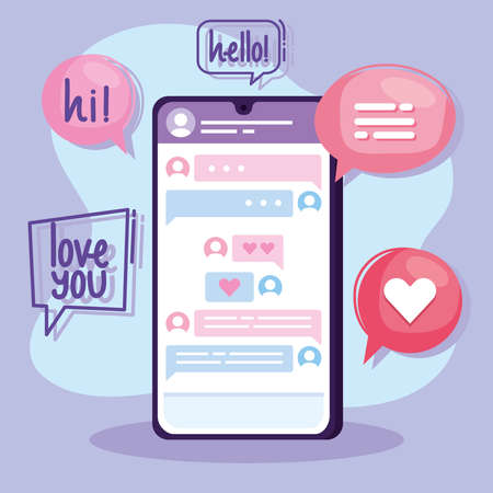 virtual relationship in smartphone