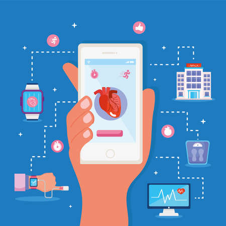 smartphone health monitor