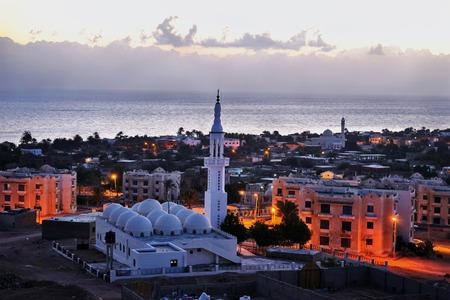 dahab: Dahab at sunrise. Sun will rise soon.Dahab. Egypt.