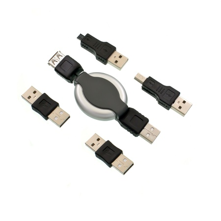 adapters: Set of adapters for computers