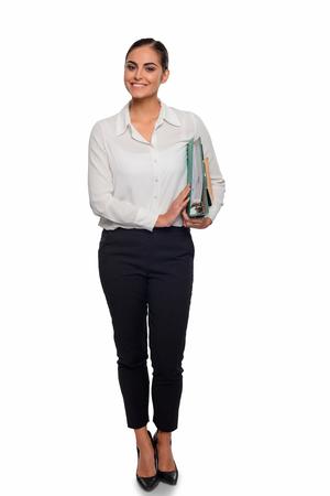 Confident and intelligent businesswoman Stock Photo
