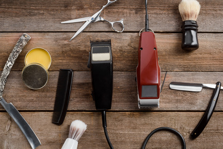 Electric hair trimmers and wax