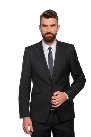 Vertical portrait of a businessman