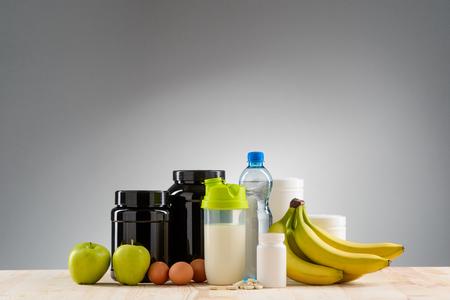 Nice variant of nutrition Stock fotó