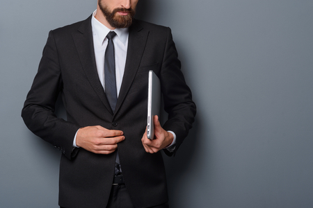 Typical businessman look Stock Photo