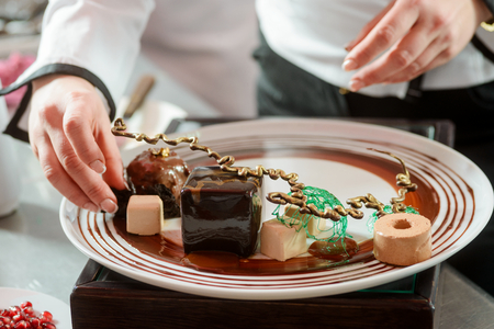 Sweets and garnishes