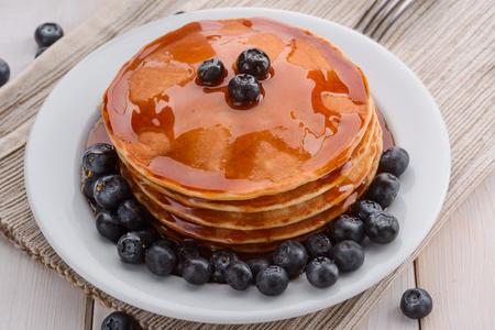 Lovely shot of pancakes