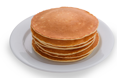 Isolated plate with thick pancakes
