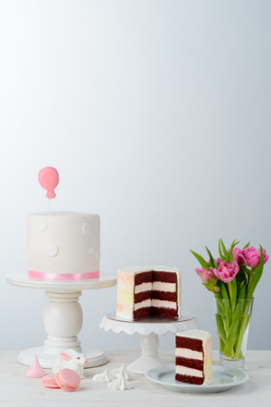Cakes and macaroni sweets