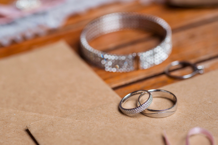 Close up on rings