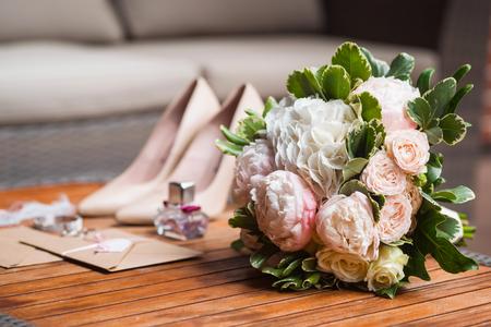 Beautiful bridal bouquet Stockfoto
