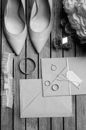 Set of bridal accessories