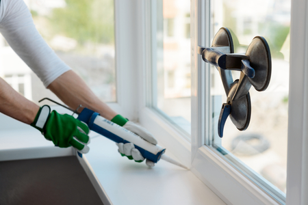 Home repair service Stock Photo