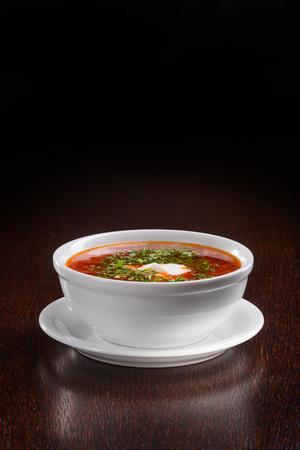 Yummy variant of Ukrainian borscht