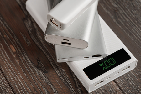 Fully charged power banks Stock fotó - 114158029