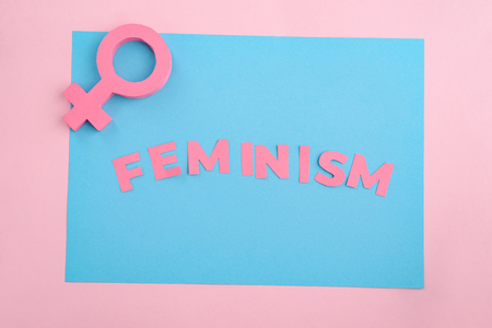 Female gender sign and Feminism