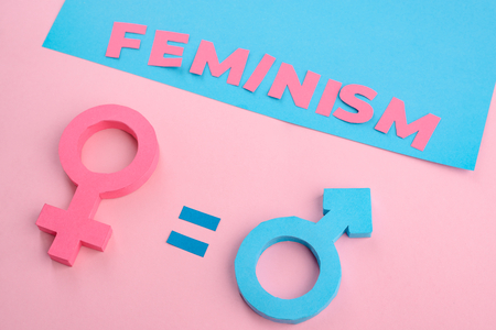 Feminism and gender equality 写真素材