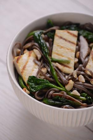 Bowl of Soba noodles