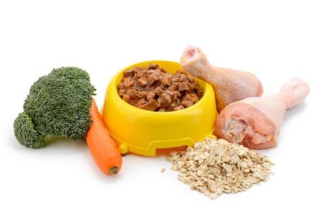 Portion of wet pet food