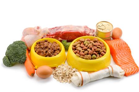 Alimentos para mascotas y sus ingredientes
