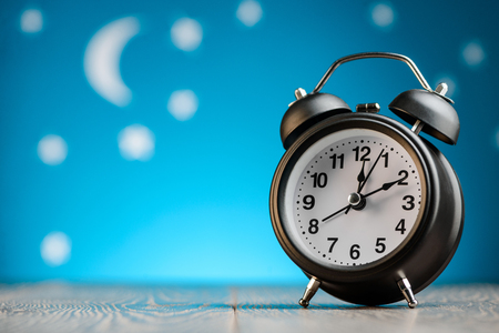 Vintage alarm clock Foto de archivo