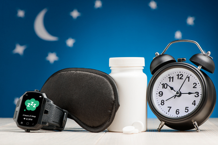 Smart watch, mask, pill, clock