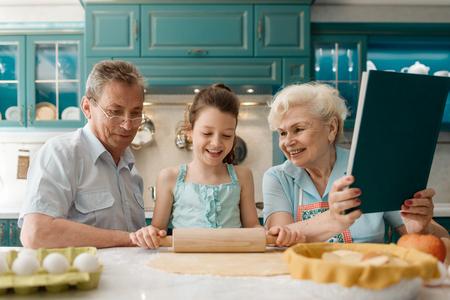 Grandparents learn grandchild