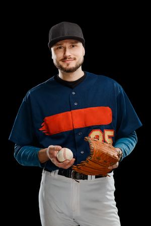 Portrait of a pitcher