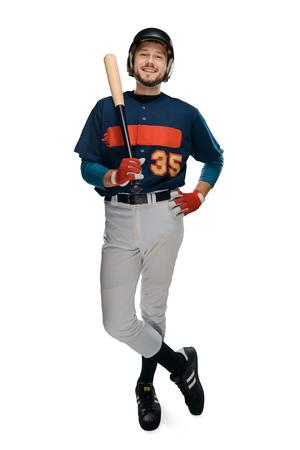 Portrait of a baseball batter