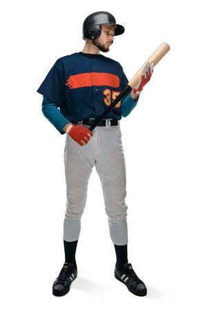 Portrait of a batter