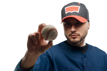 Knuckleball in pitchers hands