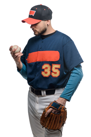 Man looking at a knuckleball