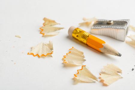 Versleten potlood