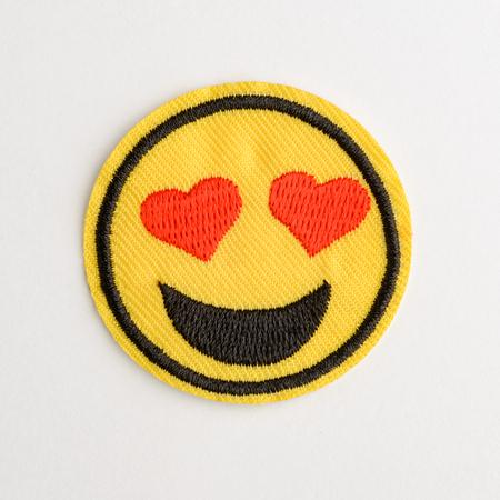 Lovey dovey emoji patch