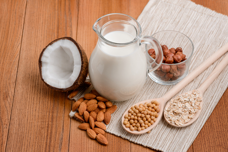 Making milk from nuts